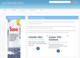 addressask.info