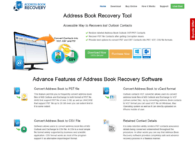 addressbookrecovery.com