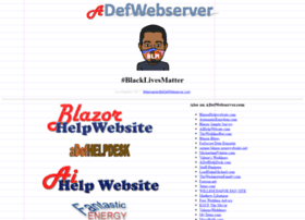 adefwebserver.com
