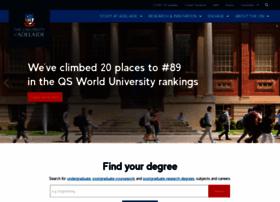 Adelaide.edu.au