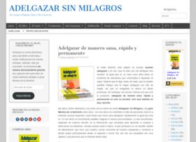 adelgazarsinmilagros.com