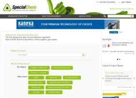 adhesives.specialchem.com
