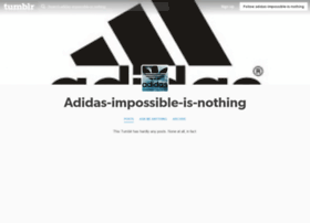 adidas-impossible-is-nothing.tumblr.com