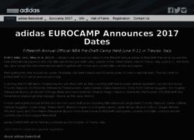 adidaseurocamp.com