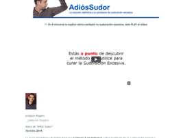 adiossudor.com