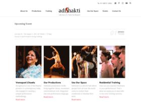 adishaktitheatrearts.com