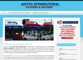 adityainternationalpackers.in
