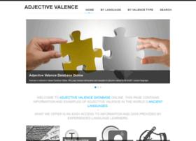 adjectivevalence.com