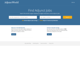 adjunctworld.com