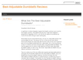 adjustabledumbbells1hub.drupalgardens.com