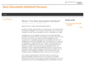 adjustablekettlebell.drupalgardens.com