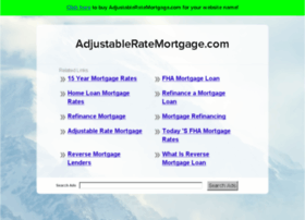 adjustableratemortgage.com