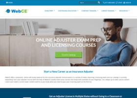 adjusterprelicense.webce.com