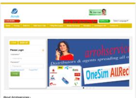 admin.arrohservices.com