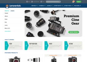 admin.lensrentals.com