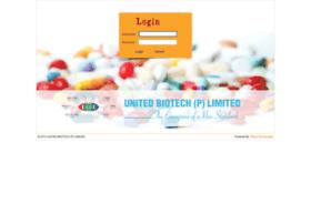 admin.unitedbiotechindia.com