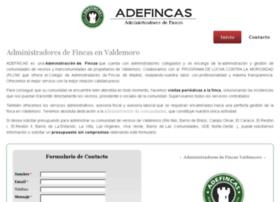 administradoresfincasvaldemoro.com