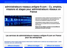 administrateurs-reseaux.enligne-fr.com