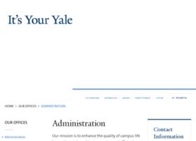 administration.yale.edu