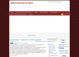 administrativearts.com