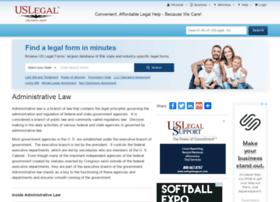 administrativelaw.uslegal.com