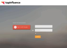 administrators.tapinfluence.com