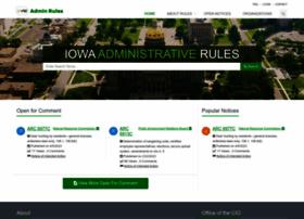 adminrules.iowa.gov