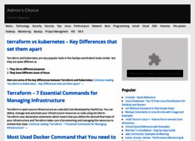 adminschoice.com