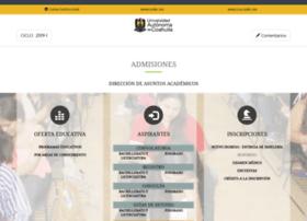 admisiones.uadec.mx