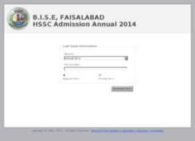 admission.bisefsd.edu.pk