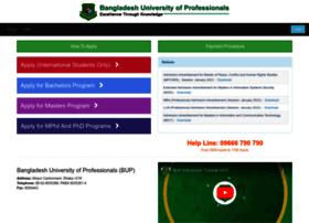 admission.bup.edu.bd