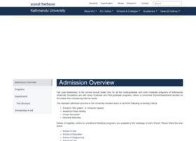 admission.ku.edu.np