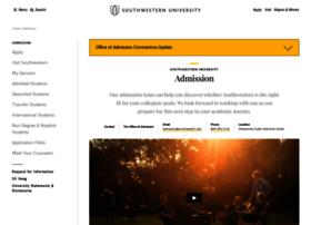 admission.southwestern.edu