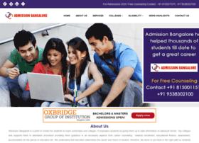 admissionbangalore.com