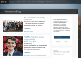 admissionblog.lmu.edu