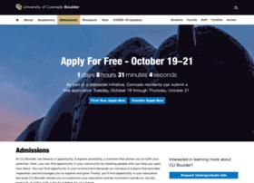 admissions.colorado.edu