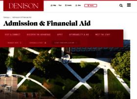 admissions.denison.edu