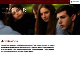 admissions.frisch.org