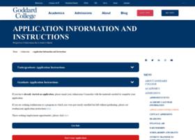 admissions.goddard.edu