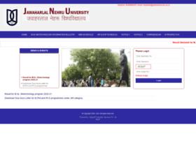 admissions.jnu.ac.in