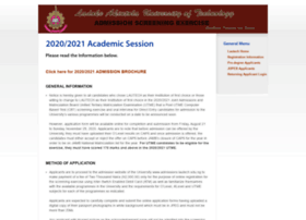 admissions.lautech.edu.ng