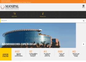 admissions.manipal.edu