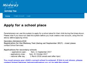 admissions.medway.gov.uk