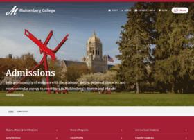 admissions.muhlenberg.edu