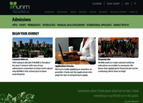 admissions.nunm.edu