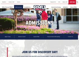 admissions.rmu.edu