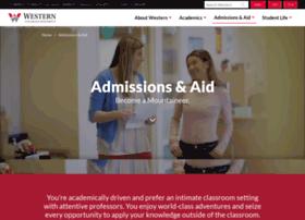 admissions.western.edu