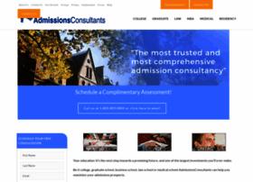 admissionsconsultants.com