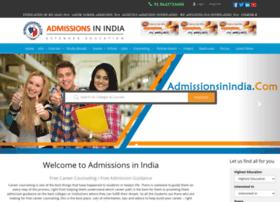 admissionsinindia.com