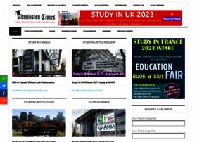 admissiontimes.com